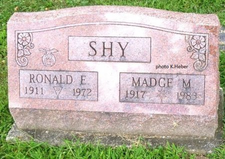 BARE SHY, MADGE M - Champaign County, Ohio | MADGE M BARE SHY - Ohio Gravestone Photos