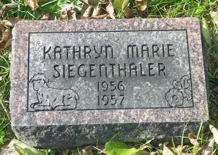 SIEGENTHALER, KATHRYN MARIE - Champaign County, Ohio | KATHRYN MARIE SIEGENTHALER - Ohio Gravestone Photos