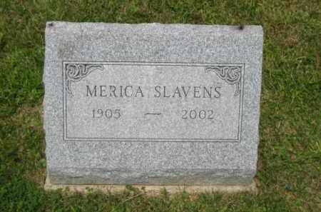 SLAVENS, MERICA F - Champaign County, Ohio   MERICA F SLAVENS - Ohio Gravestone Photos