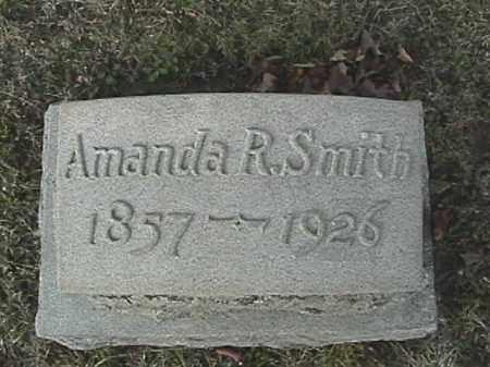 SMITH, AMANDA R. - Champaign County, Ohio | AMANDA R. SMITH - Ohio Gravestone Photos