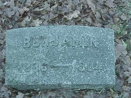 SNAPP, BENJAMIN FRANKLIN - Champaign County, Ohio | BENJAMIN FRANKLIN SNAPP - Ohio Gravestone Photos
