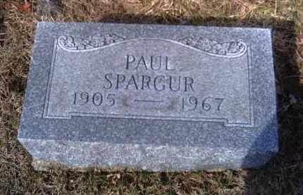 SPARGUR, PAUL - Champaign County, Ohio | PAUL SPARGUR - Ohio Gravestone Photos