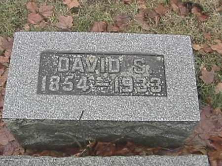 SPEECE, DAVID S. - Champaign County, Ohio   DAVID S. SPEECE - Ohio Gravestone Photos