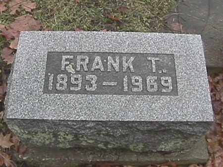 SPEECE, FRANK T. - Champaign County, Ohio | FRANK T. SPEECE - Ohio Gravestone Photos