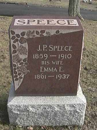 SPEECE, JACOB PERRY - Champaign County, Ohio | JACOB PERRY SPEECE - Ohio Gravestone Photos
