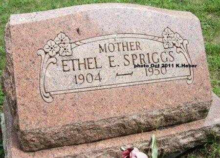 BEATY SPRIGGS, ETHEL ERMA - Champaign County, Ohio | ETHEL ERMA BEATY SPRIGGS - Ohio Gravestone Photos