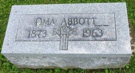 ABBOTT STADLER, OMA - Champaign County, Ohio | OMA ABBOTT STADLER - Ohio Gravestone Photos