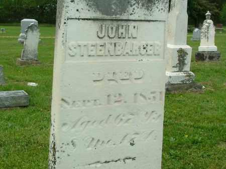 STEINBERGER, JOHN L - Champaign County, Ohio   JOHN L STEINBERGER - Ohio Gravestone Photos