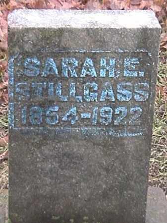 STILLGASS, SARAH ELLEN - Champaign County, Ohio | SARAH ELLEN STILLGASS - Ohio Gravestone Photos