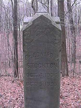 STOCKTON, EDWARD H. - Champaign County, Ohio | EDWARD H. STOCKTON - Ohio Gravestone Photos