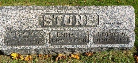 """ARNOLD STONE, EMELINE L """"EMMA"""" - Champaign County, Ohio   EMELINE L """"EMMA"""" ARNOLD STONE - Ohio Gravestone Photos"""