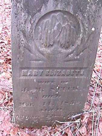 STUCK, MARY ELIZABETH - Champaign County, Ohio   MARY ELIZABETH STUCK - Ohio Gravestone Photos