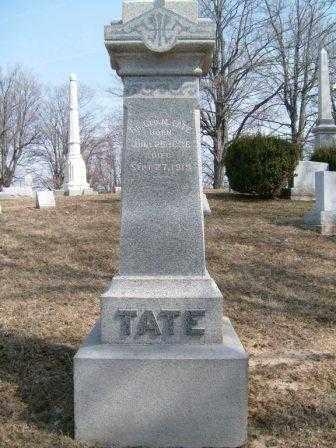 TATE, GEORGE M. - Champaign County, Ohio | GEORGE M. TATE - Ohio Gravestone Photos