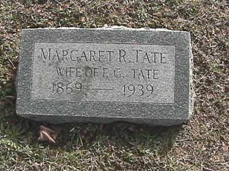 TATE, MARGARET REBECCA - Champaign County, Ohio   MARGARET REBECCA TATE - Ohio Gravestone Photos