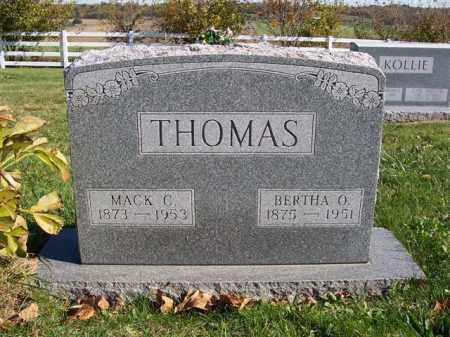 THOMAS, MACK C - Champaign County, Ohio | MACK C THOMAS - Ohio Gravestone Photos