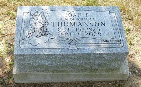 ALBRO THOMASSON, JOAN F - Champaign County, Ohio | JOAN F ALBRO THOMASSON - Ohio Gravestone Photos