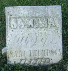 THOMPSON, JAMINA - Champaign County, Ohio | JAMINA THOMPSON - Ohio Gravestone Photos