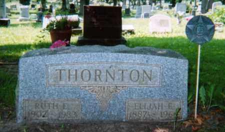 THORNTON, ELIJAH FREEMAN - Champaign County, Ohio | ELIJAH FREEMAN THORNTON - Ohio Gravestone Photos