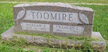 ANDERSON TOOMIRE, FRANCES LOUETTA - Champaign County, Ohio   FRANCES LOUETTA ANDERSON TOOMIRE - Ohio Gravestone Photos