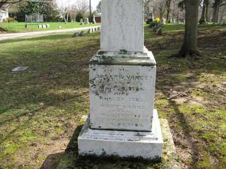 LEMEN VANCE, MARY - Champaign County, Ohio   MARY LEMEN VANCE - Ohio Gravestone Photos