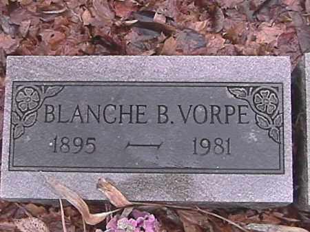 VORPE, BLANCHE - Champaign County, Ohio | BLANCHE VORPE - Ohio Gravestone Photos