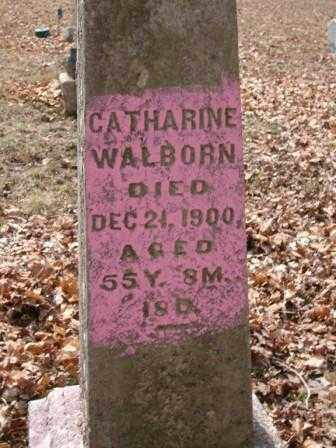 WALBORN, CATHARINE - Champaign County, Ohio | CATHARINE WALBORN - Ohio Gravestone Photos