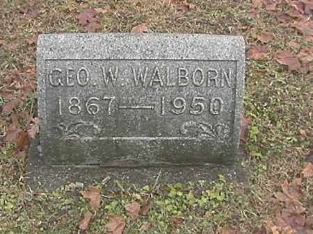 WALBORN, GEORGE W. - Champaign County, Ohio | GEORGE W. WALBORN - Ohio Gravestone Photos