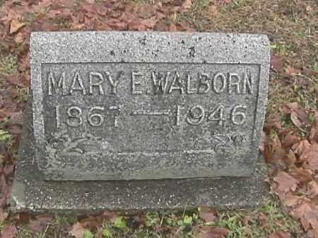 WALBORN, MARY A. - Champaign County, Ohio   MARY A. WALBORN - Ohio Gravestone Photos