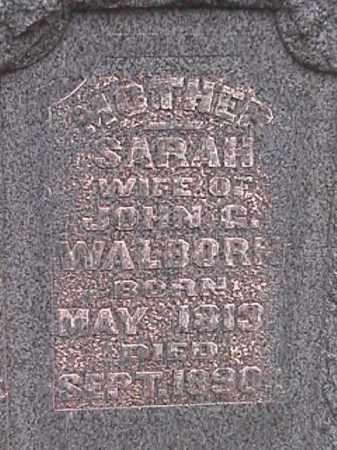 HETZEL WALBORN, SARAH - Champaign County, Ohio   SARAH HETZEL WALBORN - Ohio Gravestone Photos