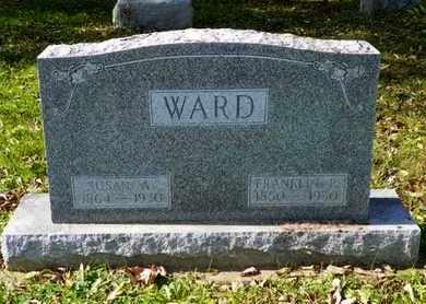 WARD, SUSAN A. - Champaign County, Ohio | SUSAN A. WARD - Ohio Gravestone Photos