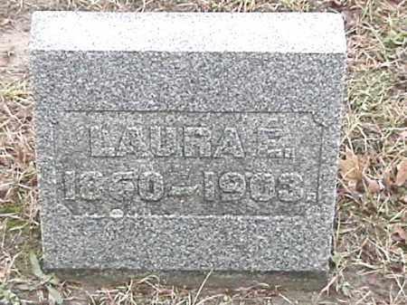 WARD, LAURA E. - Champaign County, Ohio | LAURA E. WARD - Ohio Gravestone Photos