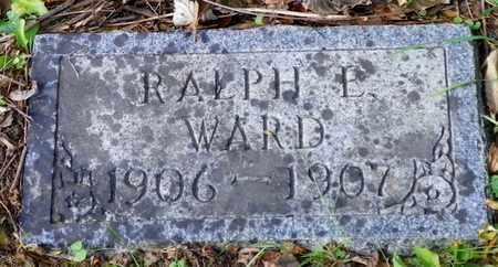 WARD, RALPH F. - Champaign County, Ohio | RALPH F. WARD - Ohio Gravestone Photos