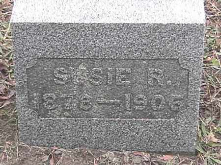 WARD, SUSIE R. - Champaign County, Ohio   SUSIE R. WARD - Ohio Gravestone Photos