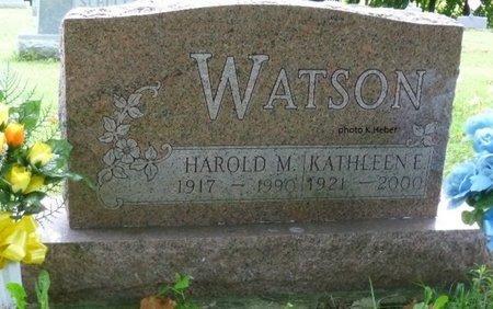 AHERN WATSON, KATHLEEN EMMA - Champaign County, Ohio | KATHLEEN EMMA AHERN WATSON - Ohio Gravestone Photos