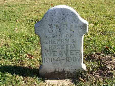 WEAVER, CARL - Champaign County, Ohio | CARL WEAVER - Ohio Gravestone Photos