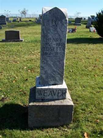 WEAVER, HENRY - Champaign County, Ohio   HENRY WEAVER - Ohio Gravestone Photos