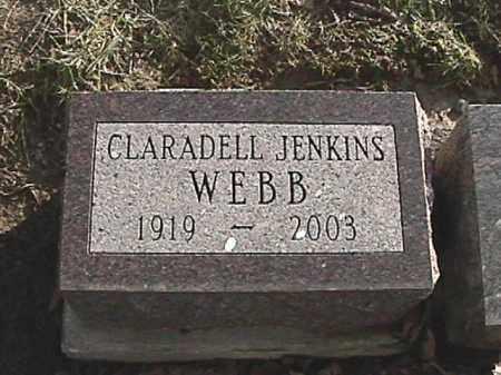 WEBB, CLARADELL JENKINS - Champaign County, Ohio | CLARADELL JENKINS WEBB - Ohio Gravestone Photos