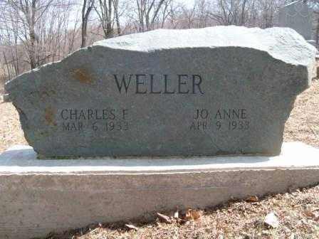 WELLER, CHARLES F. - Champaign County, Ohio | CHARLES F. WELLER - Ohio Gravestone Photos