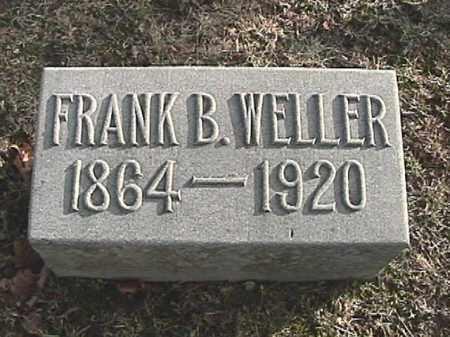 WELLER, FRANK B. - Champaign County, Ohio   FRANK B. WELLER - Ohio Gravestone Photos