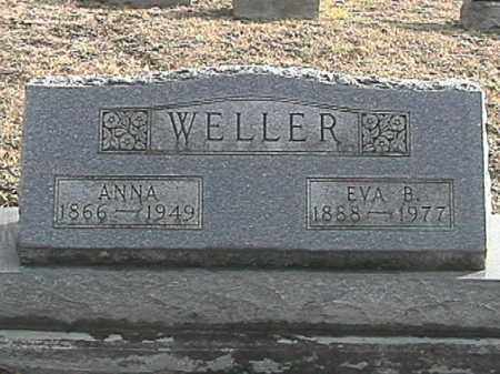 WELLER, LEANNA - Champaign County, Ohio | LEANNA WELLER - Ohio Gravestone Photos