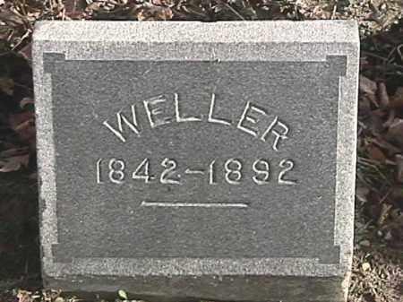 WELLER, UNKNOWN - Champaign County, Ohio   UNKNOWN WELLER - Ohio Gravestone Photos