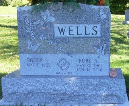 JENKINS WELLS, RUBY ARLENE - Champaign County, Ohio | RUBY ARLENE JENKINS WELLS - Ohio Gravestone Photos