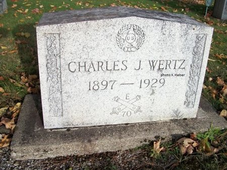 WERTZ, CHARLES JENNINGS - Champaign County, Ohio | CHARLES JENNINGS WERTZ - Ohio Gravestone Photos