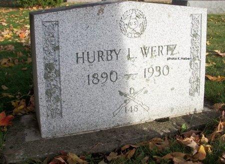 WERTZ, HURBY LEO - Champaign County, Ohio | HURBY LEO WERTZ - Ohio Gravestone Photos