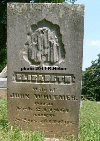 WHITMERE, ELIZABETH - Champaign County, Ohio | ELIZABETH WHITMERE - Ohio Gravestone Photos