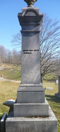WIANT, ADAM - Champaign County, Ohio | ADAM WIANT - Ohio Gravestone Photos