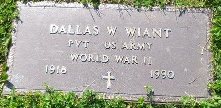 WIANT, DALLAS WILSON - Champaign County, Ohio | DALLAS WILSON WIANT - Ohio Gravestone Photos