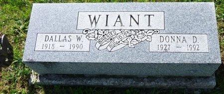 WIANT, DONNA D - Champaign County, Ohio | DONNA D WIANT - Ohio Gravestone Photos
