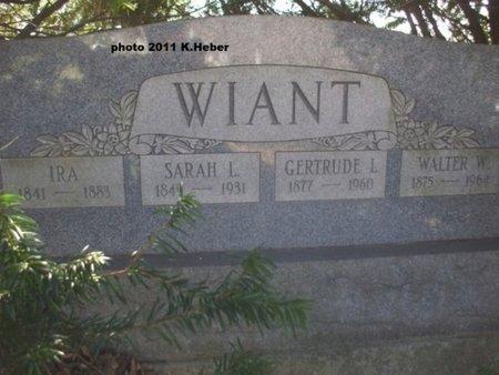 WIANT, GERTRUDE - Champaign County, Ohio | GERTRUDE WIANT - Ohio Gravestone Photos