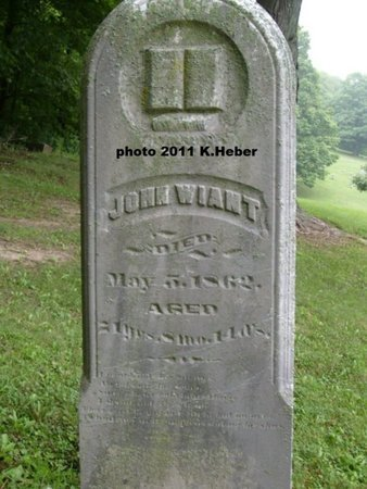 WIANT, JOHN - Champaign County, Ohio | JOHN WIANT - Ohio Gravestone Photos